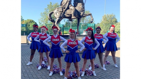 Sponsoring Doncaster Knights Cheerleaders